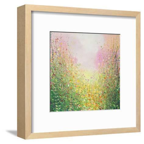 Rose and Lime-Sandy Dooley-Framed Art Print