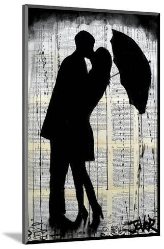 Rainy Day Romantics-Loui Jover-Mounted Art Print