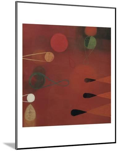 Red Seed #30-Bill Mead-Mounted Art Print