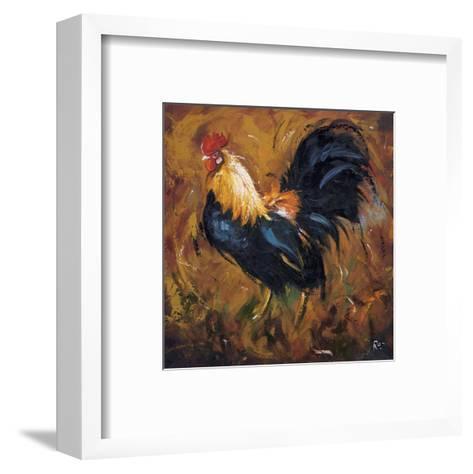 Rooster #502-Roz-Framed Art Print