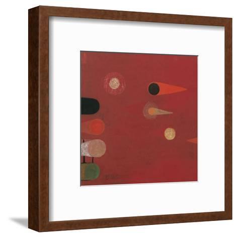 Red Seed #6-Bill Mead-Framed Art Print