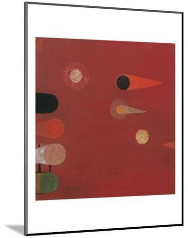 Red Seed #6-Bill Mead-Mounted Art Print