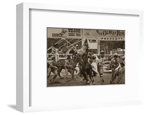 Rodeo Daze-Barry Hart-Framed Art Print