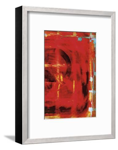Red Tsunami-Carolina Pecora-Framed Art Print