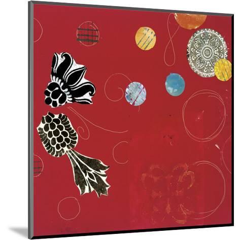 Red Velvet Delight I-Yafa-Mounted Art Print