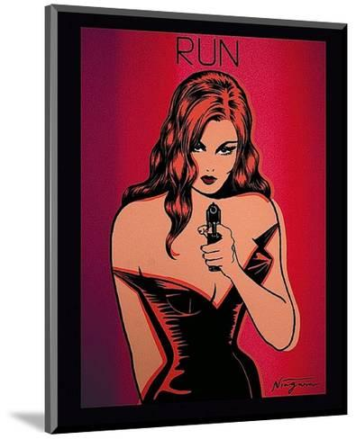 Run-Niagara Detroit-Mounted Art Print