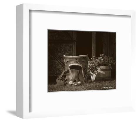 Saddle Still Life-Barry Hart-Framed Art Print