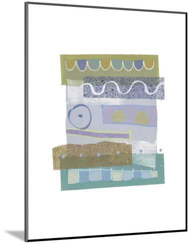 Sea & Sky II-P^G^ Gravele-Mounted Art Print