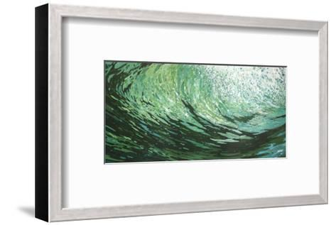 Seaweed on a Wave-Margaret Juul-Framed Art Print
