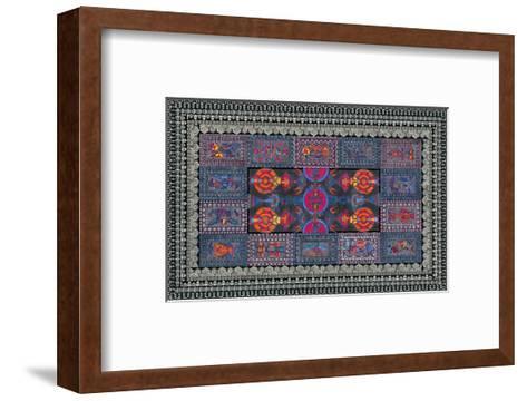 Sectional Order-Lawrence Chvotzkin-Framed Art Print