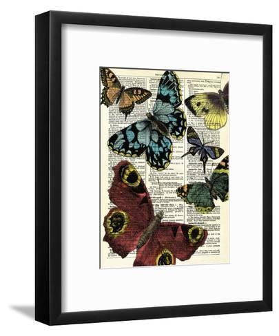 Selection of Butterflies-Marion Mcconaghie-Framed Art Print