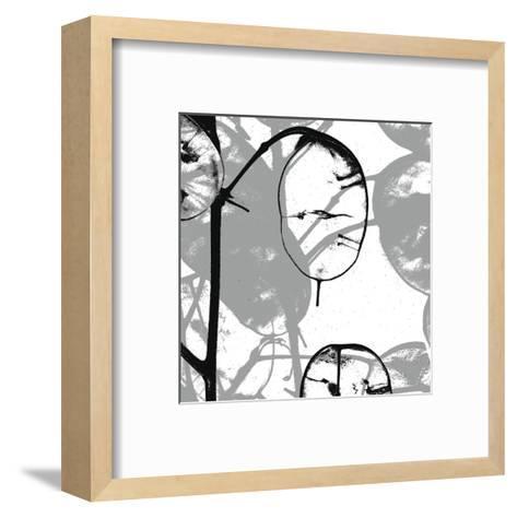 Silver Dollars IX-Erin Clark-Framed Art Print