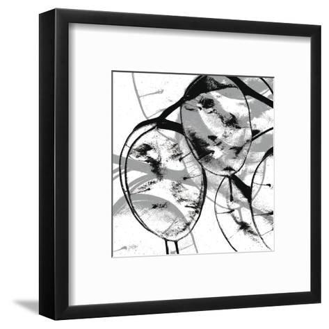 Silver Dollars VII-Erin Clark-Framed Art Print