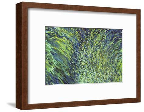 Shimmering Waterfall-Margaret Juul-Framed Art Print