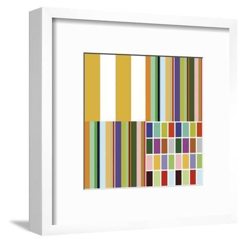 Signature Graphic (detail 1)-Dan Bleier-Framed Art Print