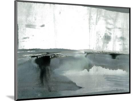 Silver Silence: Watercolor and Mist-Joan Davis-Mounted Art Print