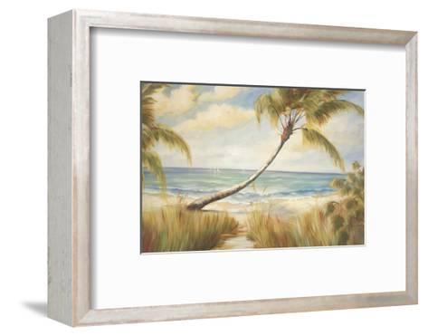 Shoreline Palms I-Marc Lucien-Framed Art Print