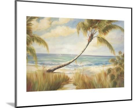 Shoreline Palms I-Marc Lucien-Mounted Art Print