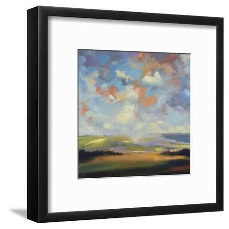 Sky and Land VI-Robert Seguin-Framed Art Print