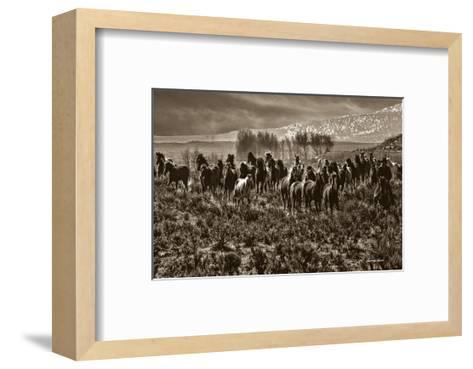 Spring Thaw-Barry Hart-Framed Art Print