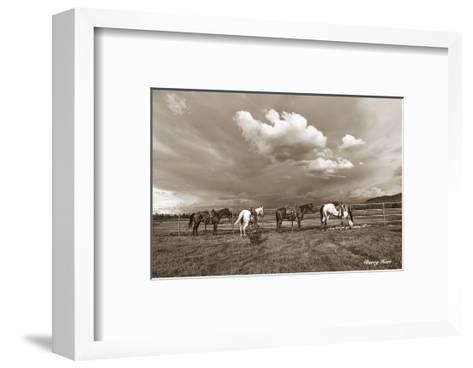 Storm Warning-Barry Hart-Framed Art Print