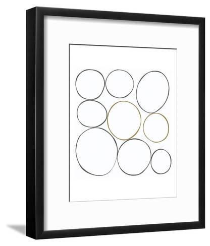 Taupe VI-Denise Duplock-Framed Art Print