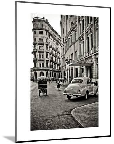 Streets of Havana-Sabri Irmak-Mounted Art Print