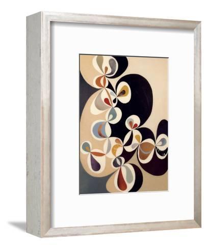 Swirl-Rex Ray-Framed Art Print