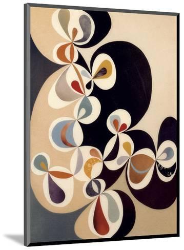 Swirl-Rex Ray-Mounted Art Print