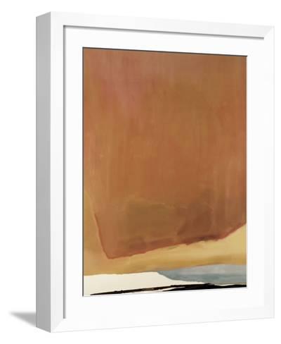 Sunset Corner, 1969-Helen Frankenthaler-Framed Art Print