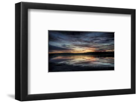 The Fire in the Sky-Eric Wood-Framed Art Print
