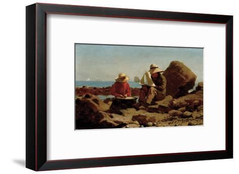 The Boat Builders, 1873-Winslow Homer-Framed Art Print