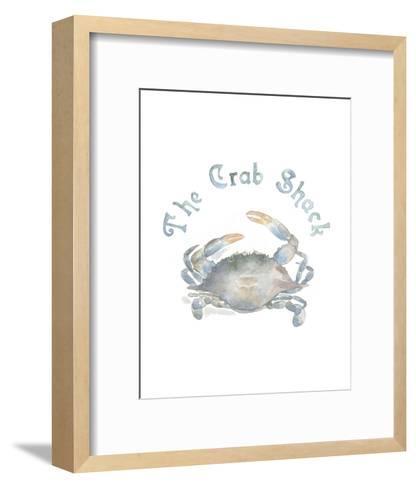 The Crab Shack-Victoria Lowe-Framed Art Print