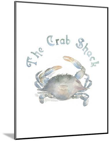 The Crab Shack-Victoria Lowe-Mounted Art Print