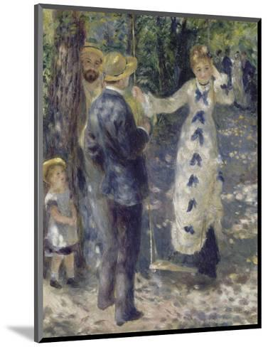The Swing, 1876-Pierre-Auguste Renoir-Mounted Art Print