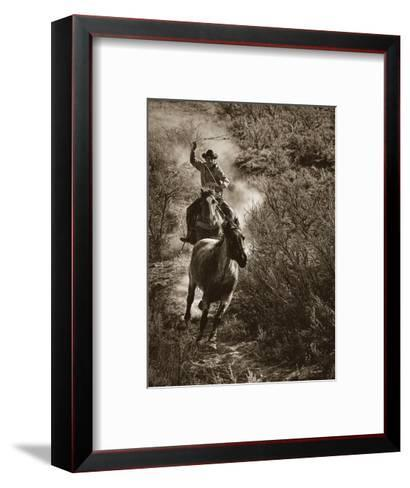 The One That Got Away-Barry Hart-Framed Art Print
