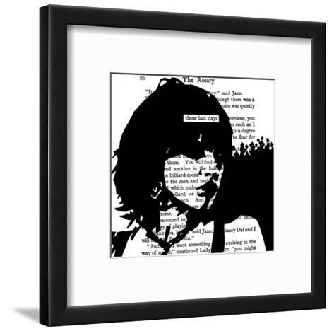 Those Last Days (detail)-John Clark-Framed Art Print