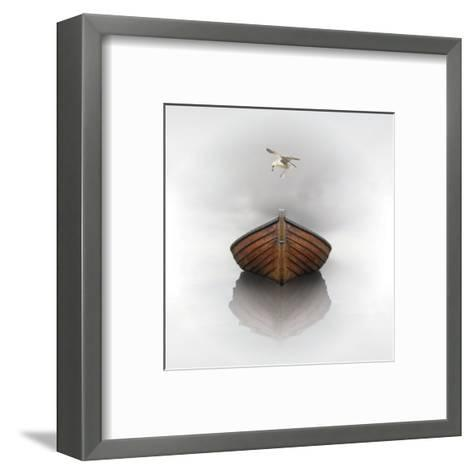 Time Stopped 1 (square)-Carlos Casamayor-Framed Art Print
