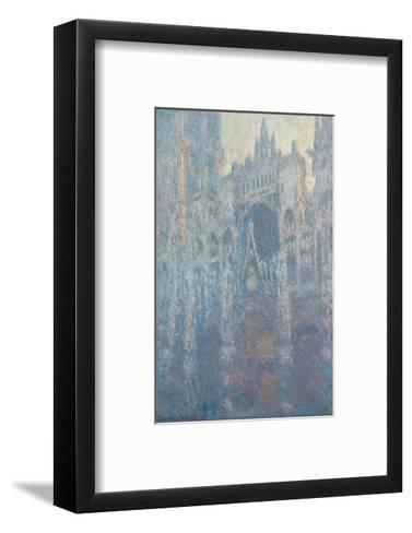 The Portal of Rouen Cathedral in Morning Light, 1894-Claude Monet-Framed Art Print