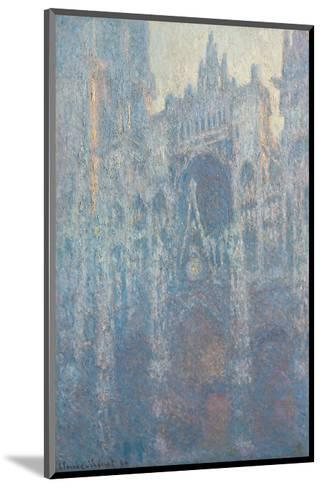 The Portal of Rouen Cathedral in Morning Light, 1894-Claude Monet-Mounted Art Print