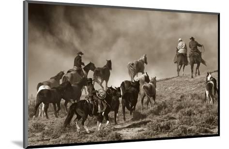 The Wild Bunch-Barry Hart-Mounted Art Print