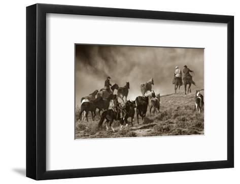 The Wild Bunch-Barry Hart-Framed Art Print