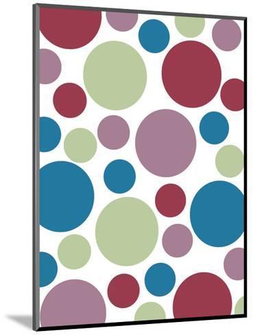 Tutti-frutti Spots-Denise Duplock-Mounted Art Print