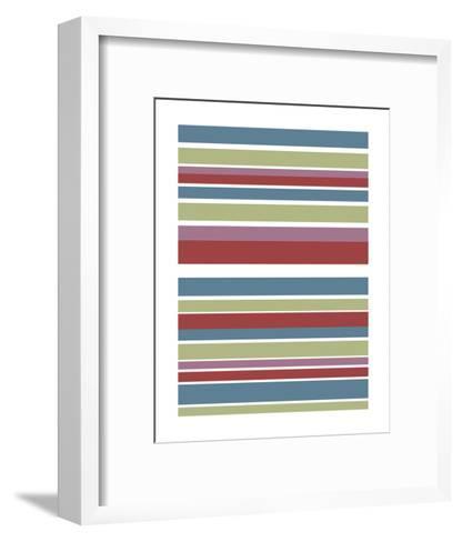 Tutti-frutti Stripes-Denise Duplock-Framed Art Print