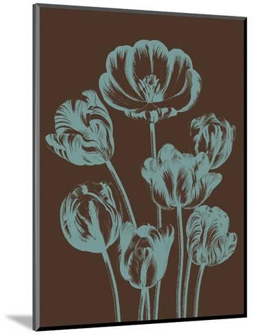 Tulip 6-Botanical Series-Mounted Art Print