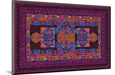 Tribal Display-Lawrence Chvotzkin-Mounted Art Print