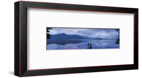 Twilight, Ashness Launch-Michael Hudson-Framed Art Print