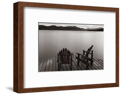 Two Chairs-James McLoughlin-Framed Art Print