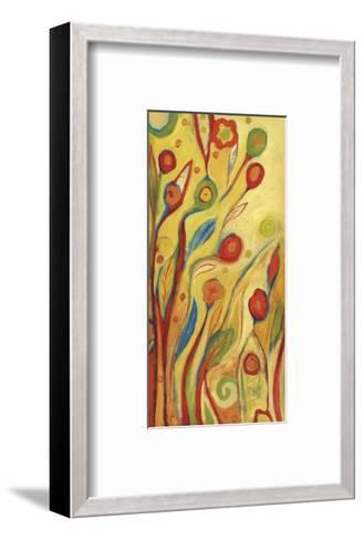 Under a Sky of Peaches and Cream-Jennifer Lommers-Framed Art Print