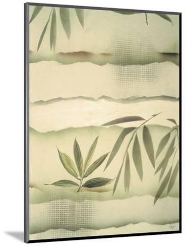 Vizcaya Ferns I-Muriel Verger-Mounted Art Print